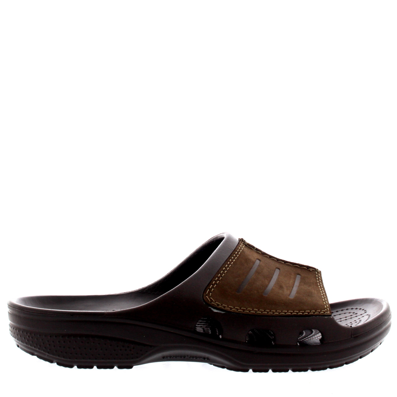 Mens Crocs Yukon Mesa Slide Lightweight Beach Slip On Open