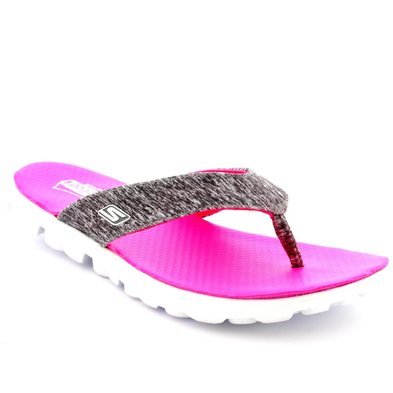 skechers on the go flip flops