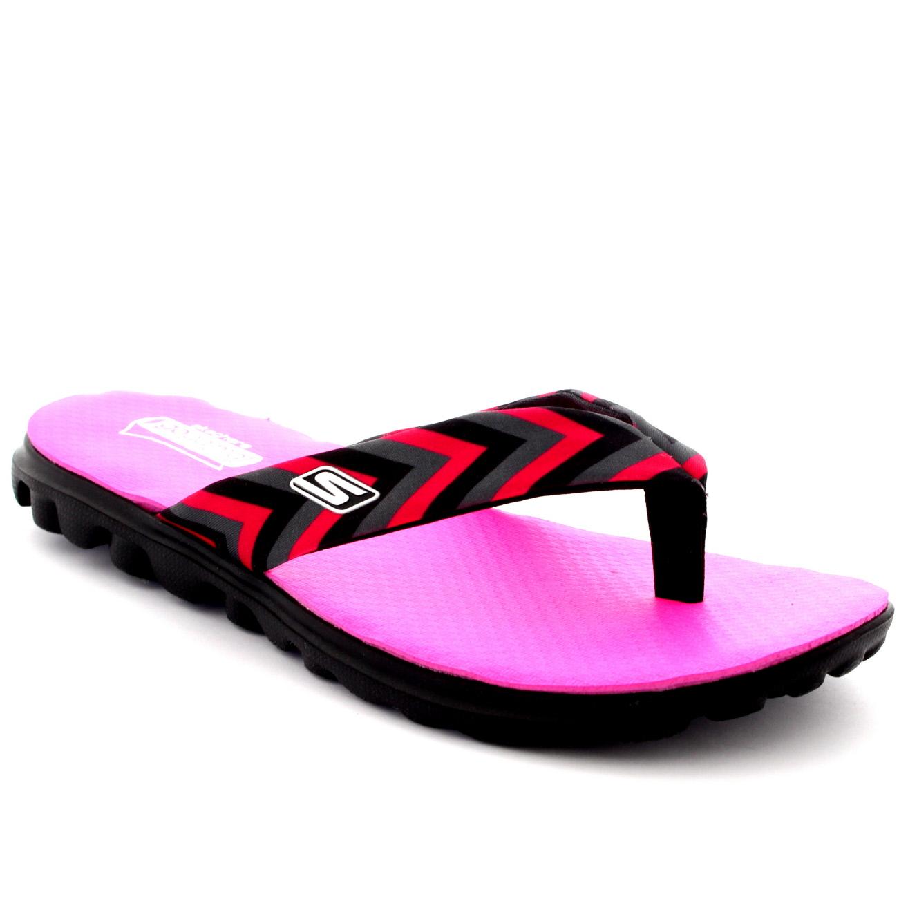Womens Skechers On The Go Arrow Yoga Foam Toe Post Sandals
