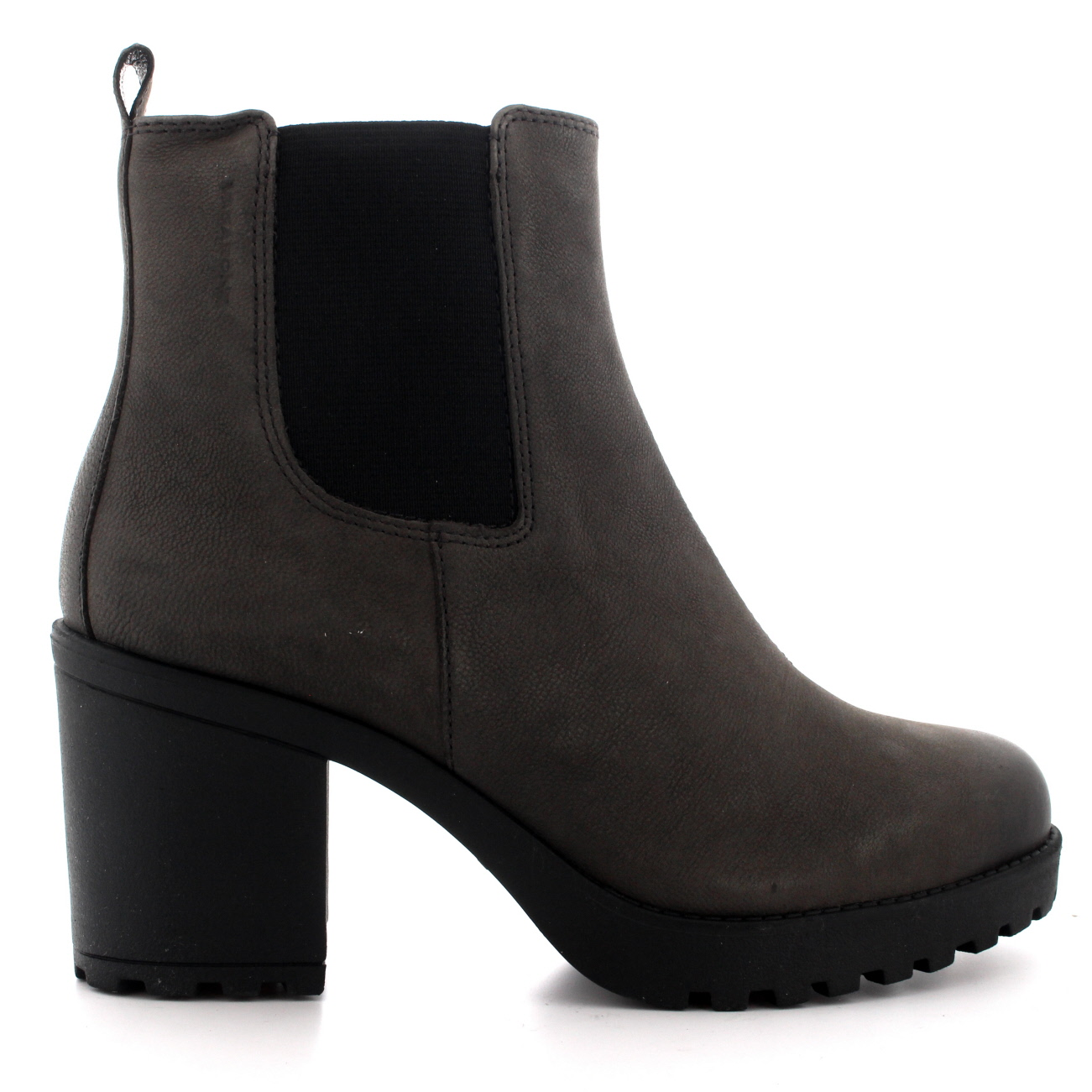 Womens Vagabond Grace Zip Suede Block Heel Festival Casual Ankle ...
