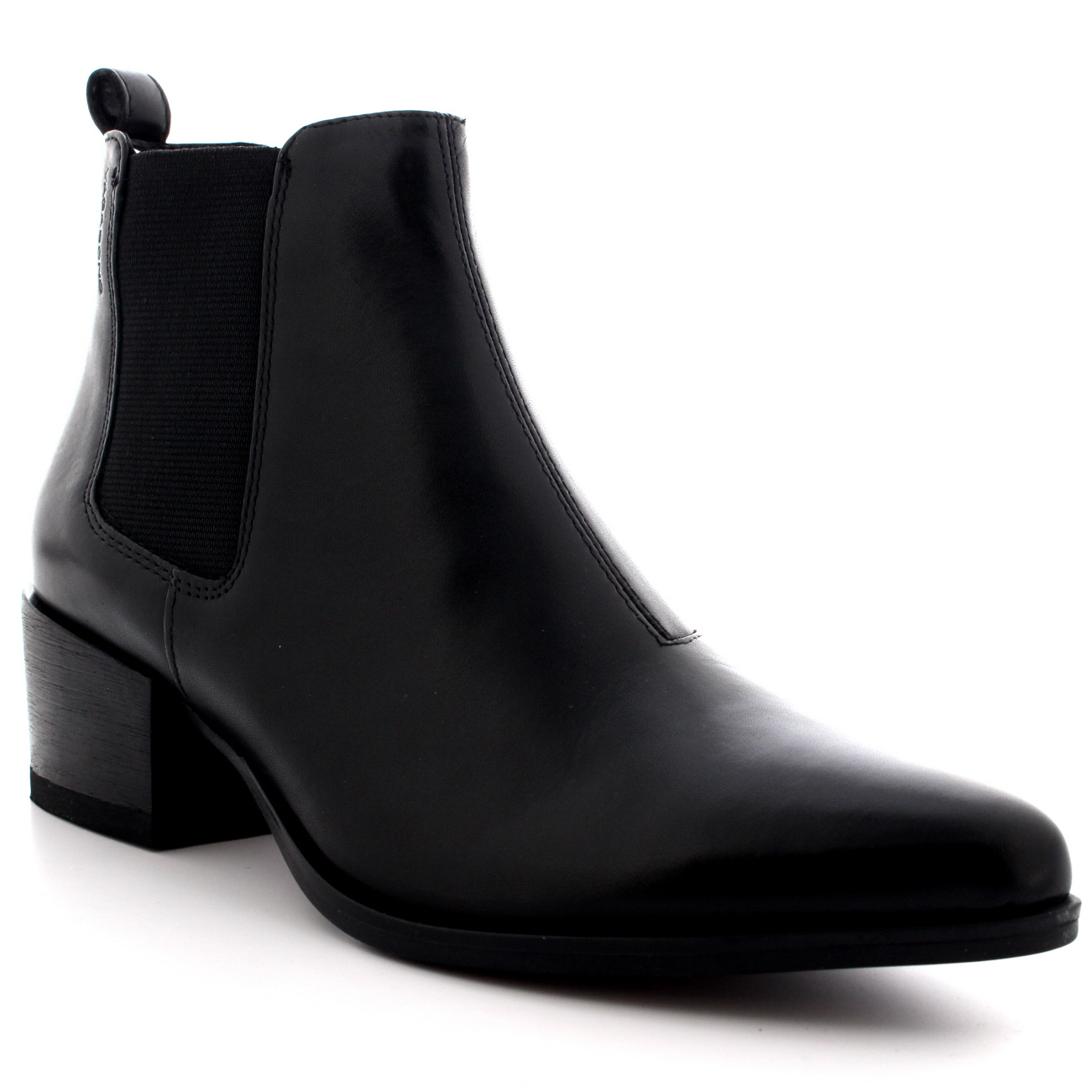 womens vagabond marja work leather shoes casual pointed toe ankle boot us 5 5 10 ebay. Black Bedroom Furniture Sets. Home Design Ideas
