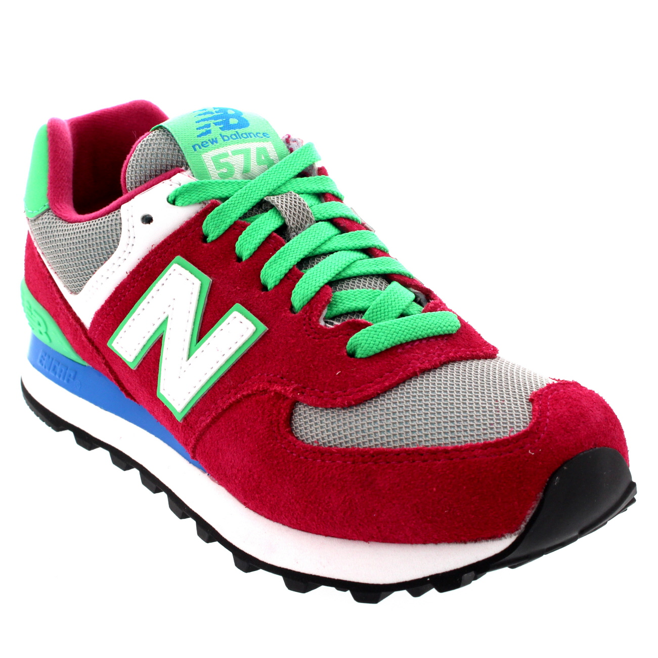womens new balance 574 casual low top casual running