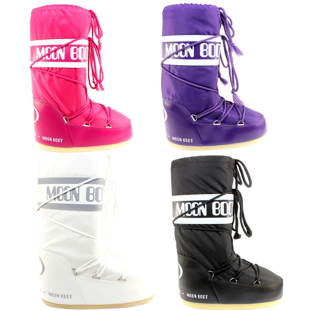 Womens Tecnica Moon Boot Nylon Winter Snow Ski Sking Boots