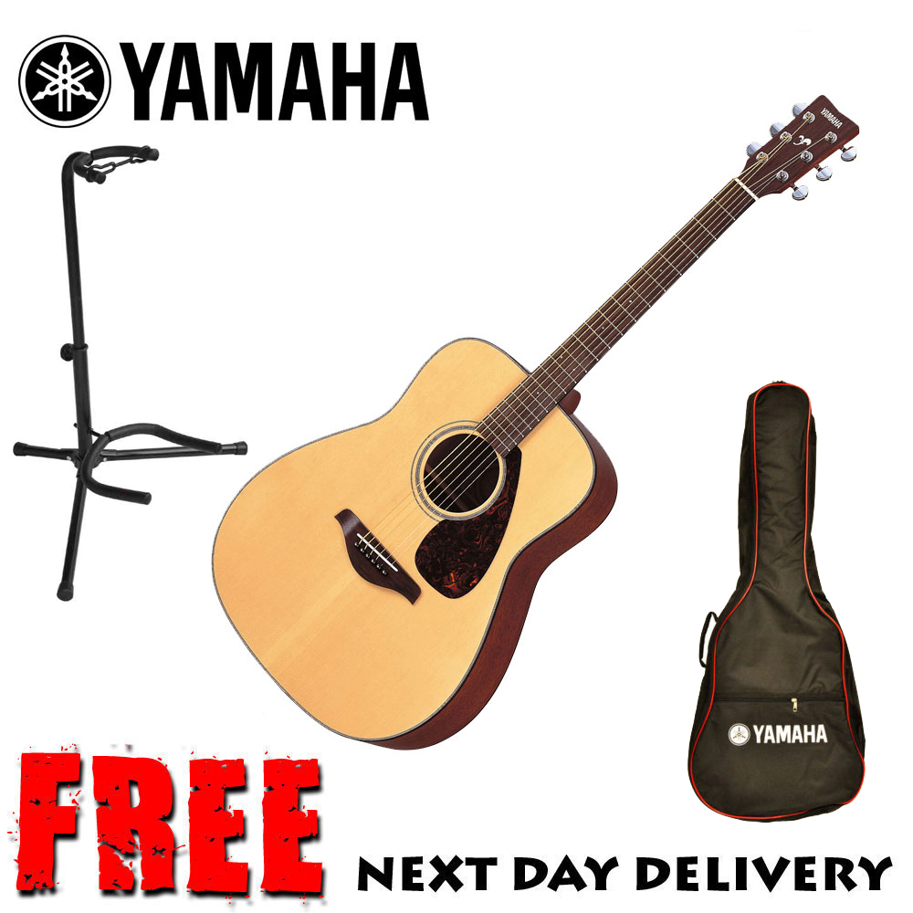 Brand new yamaha fg700ms acoustic guitar natural solid top for Yamaha guitar brands