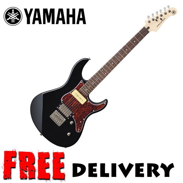 yamaha pacifica chitarra elettrica 311h nero ebay. Black Bedroom Furniture Sets. Home Design Ideas