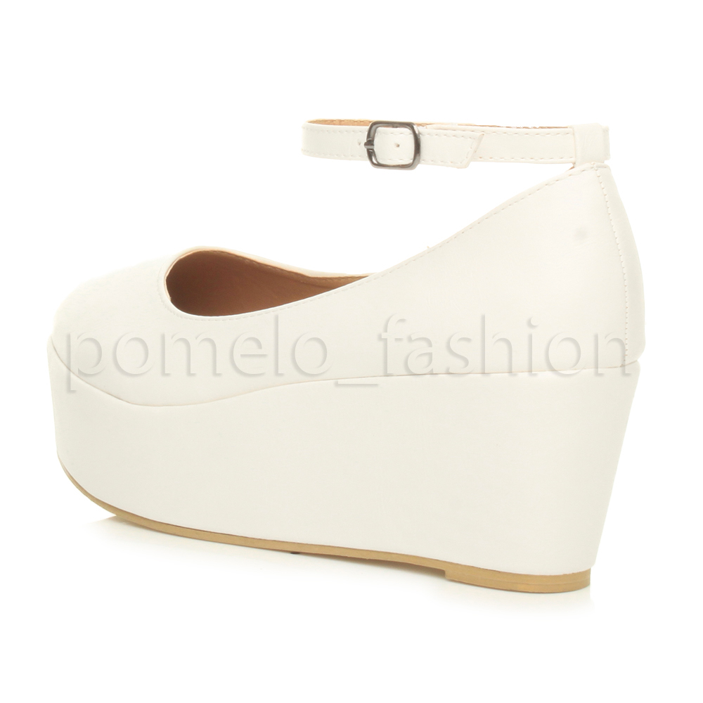 WOMENS-LADIES-MID-HEEL-PLATFORM-FLATFORM-PARTY-ANKLE-STRAP-WEDGES-SHOES-SIZE
