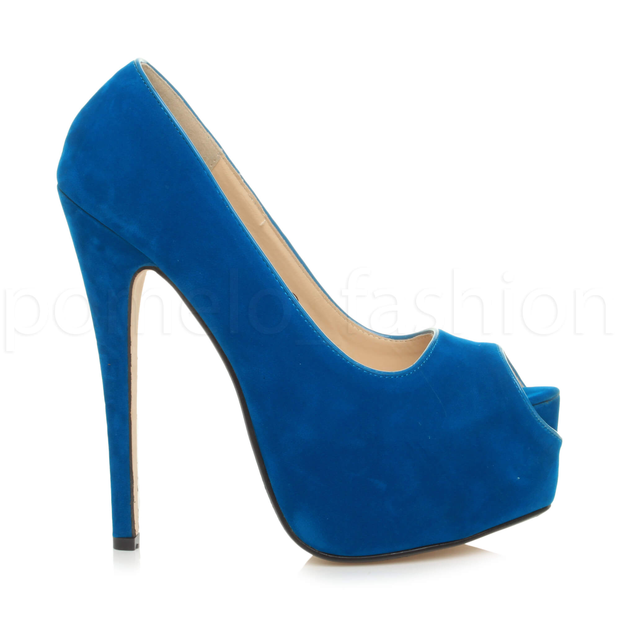 WOMENS-LADIES-HIGH-HEEL-PLATFORM-PARTY-PEEP-TOE-COURT-PUMPS-SHOES-SIZE