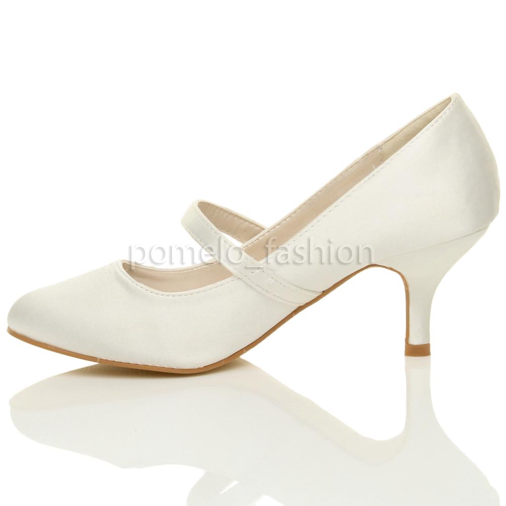 Kitten Heel Ivory Shoes