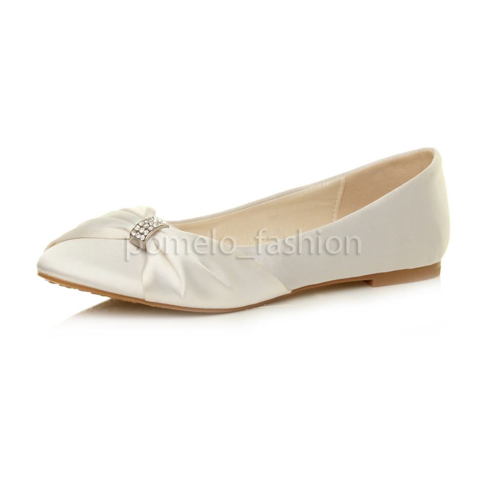 Bridal Ballerina Shoes Uk