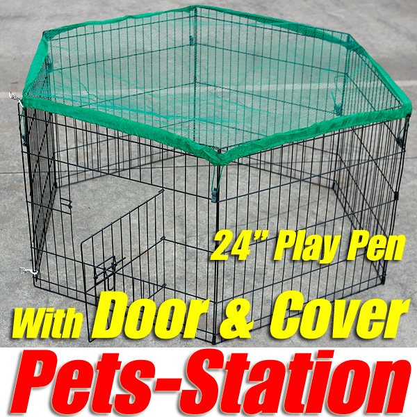 2 Storey Rabbit Hutch with Run Guinea Pig Ferret Cage
