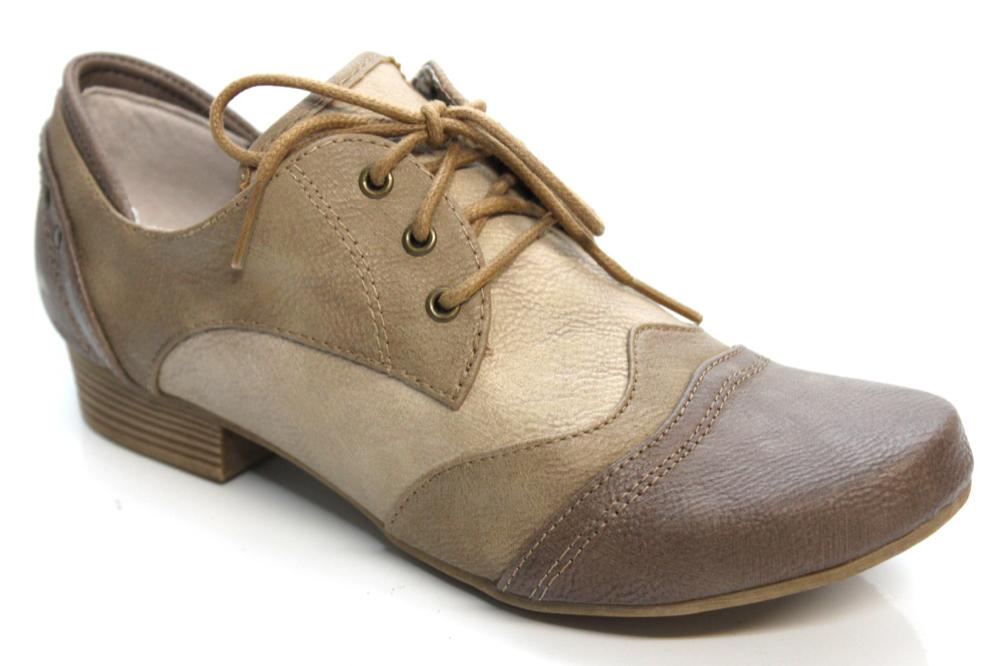 mustang shoes damen halbschuhe mit kleinem absatz. Black Bedroom Furniture Sets. Home Design Ideas
