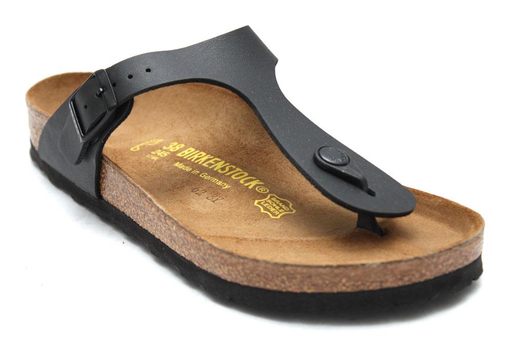 birkenstock gizeh damen sandalen zehentrenner schwarz. Black Bedroom Furniture Sets. Home Design Ideas
