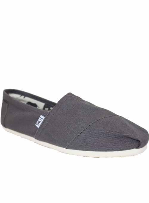toms espadrilles slipper schuhe leinen herren grau ebay. Black Bedroom Furniture Sets. Home Design Ideas