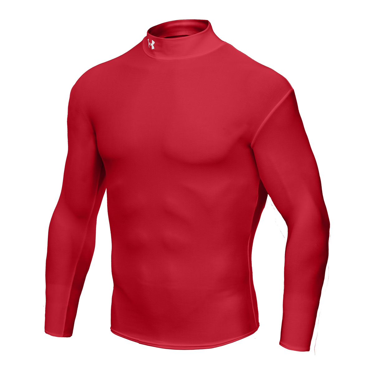 Under armour cold gear ls compression mock base layer ebay for Under armour cold gear shirt mens