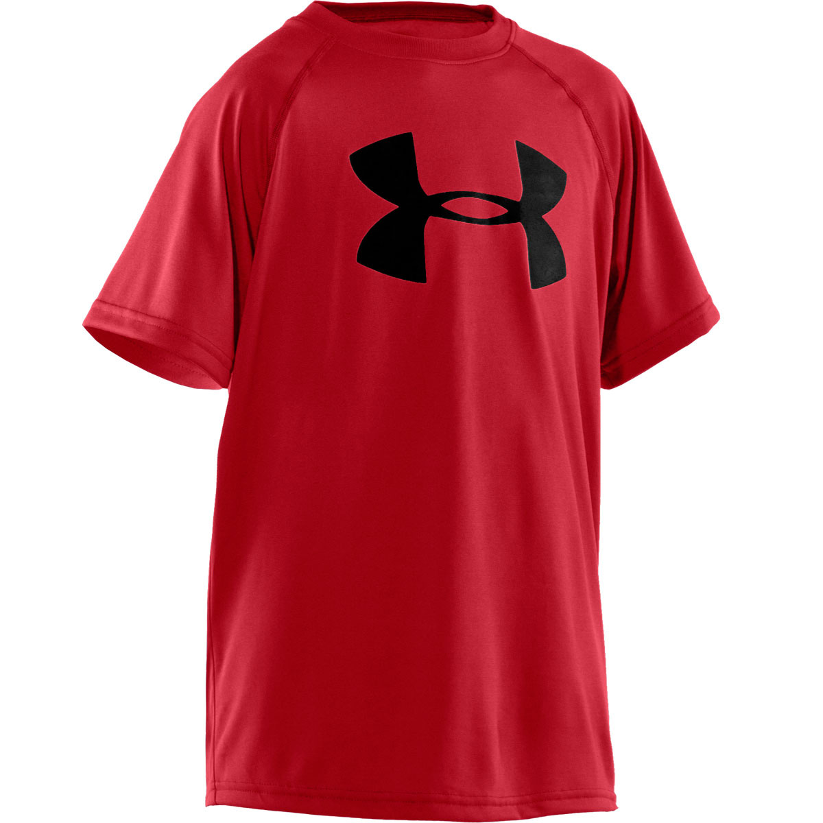 Under armour boys ua tech big logo short sleeve t shirt for Under armour swim shirt youth