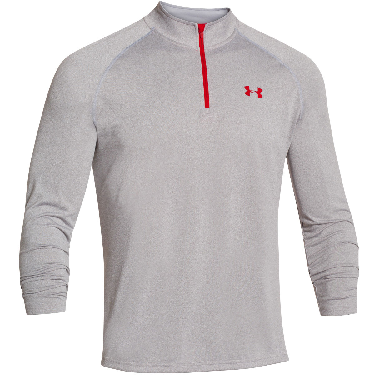 Under armour 2017 mens ua tech 1 4 zip long sleeve top gym for Under armour i will shirt