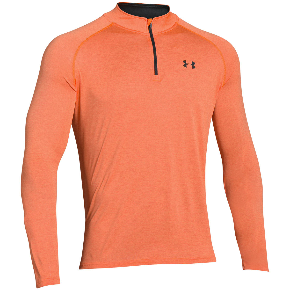 Under armour 2017 mens ua tech 1 4 zip long sleeve top gym Fitness shirts for men