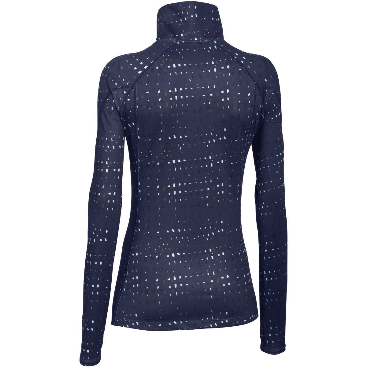 Under Armour 2015 Womens Armour ColdGear Cozy Printed Half Zip Thermal Pullover
