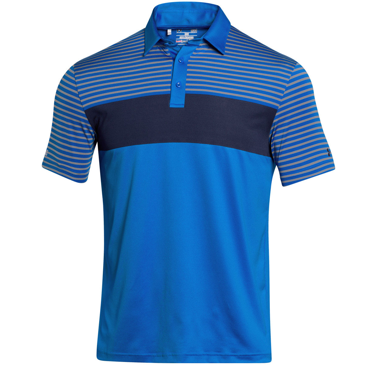 Under armour 2015 mens 39 jordan spieth masters 39 golf polo for Mens under armour golf shirts