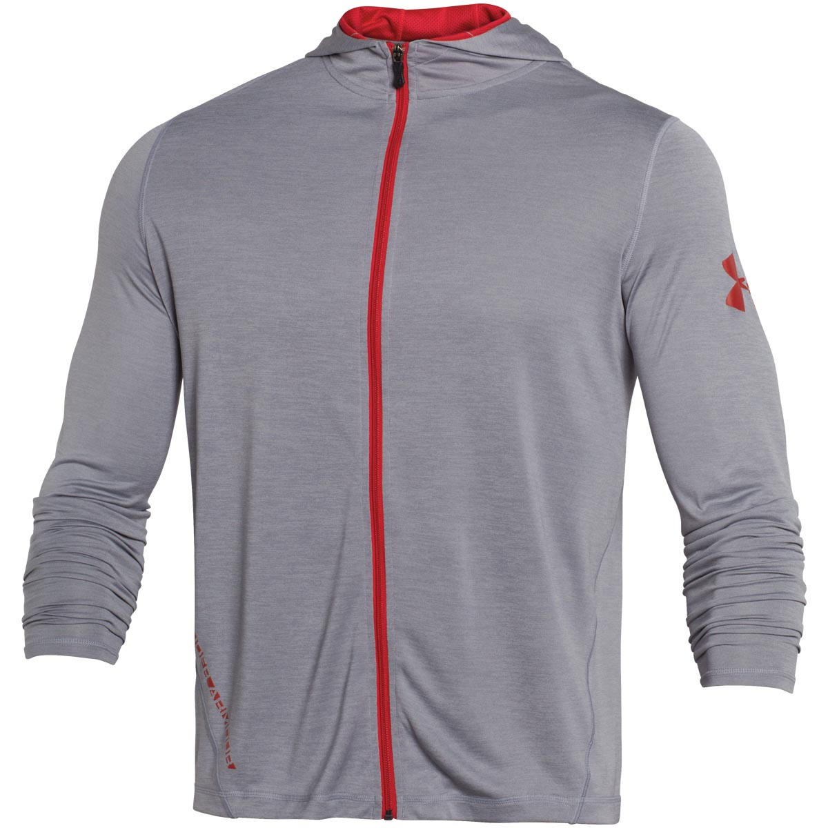 under armour zip up. under-armour-2015-mens-ua-tech-ls-full- under armour zip up