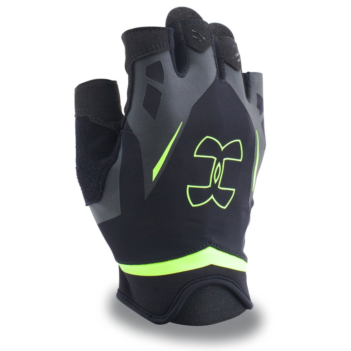 Under Armour 2015 Mens Ua Renegade Training Gloves Support: Under Armour 2017 Mens UA Flux Half-Finger Training Gloves