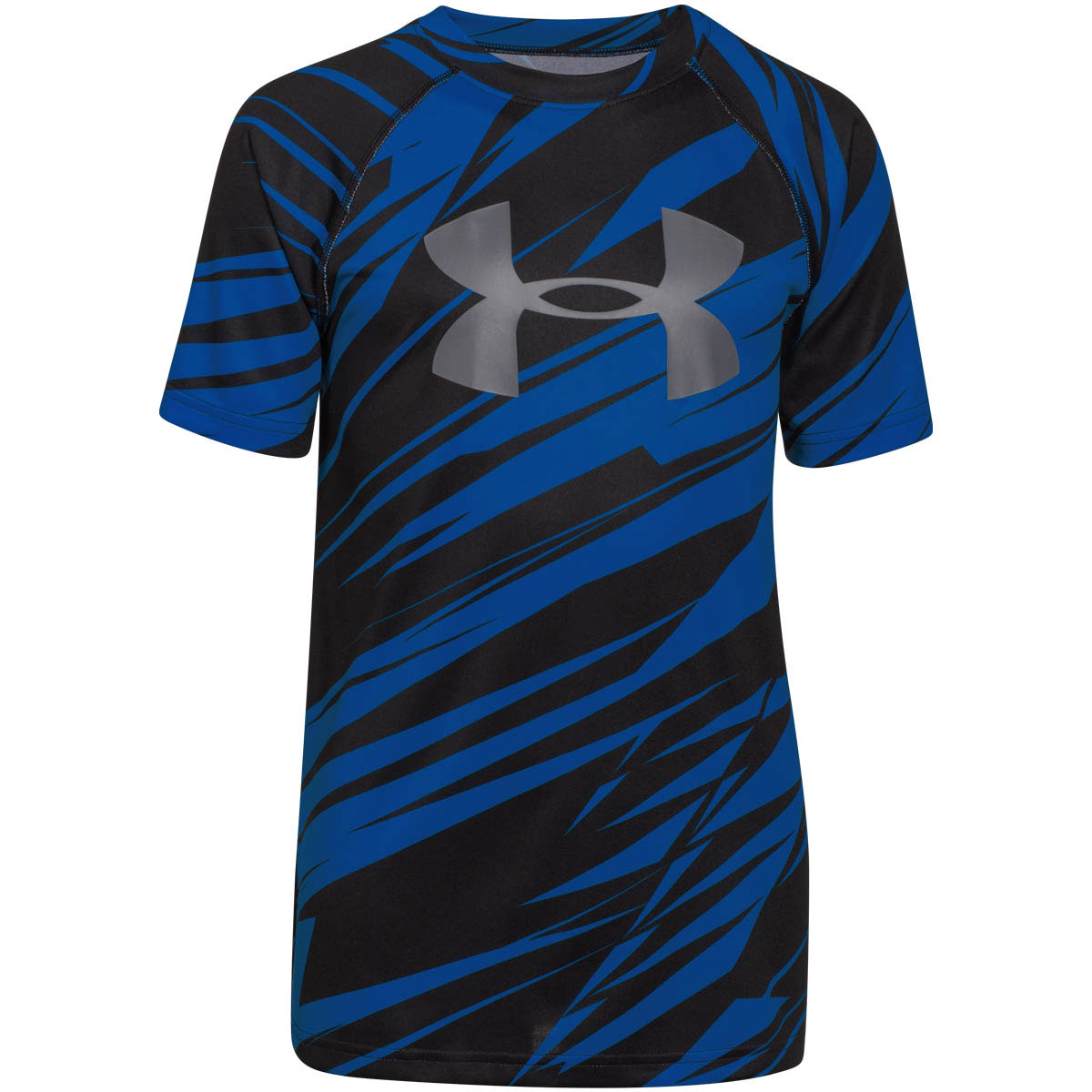Under armour 2015 boys ua tech big logo printed t shirt for Under armour swim shirt youth