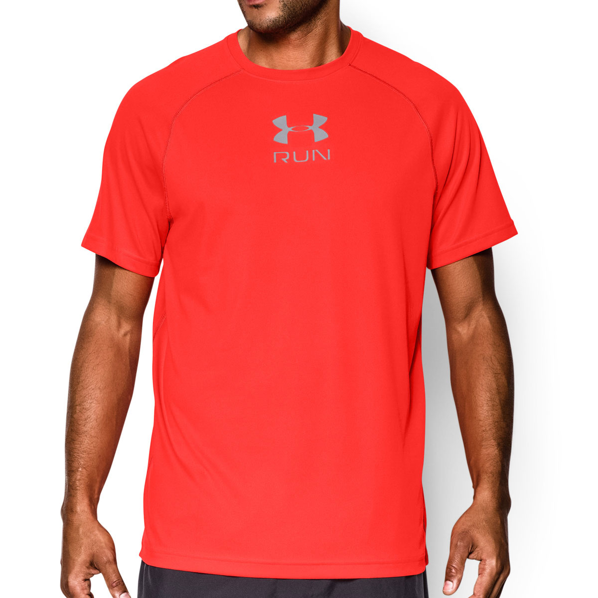 Under Armour Mens Ua Tech Run Short Sleeve T Shirt Gym