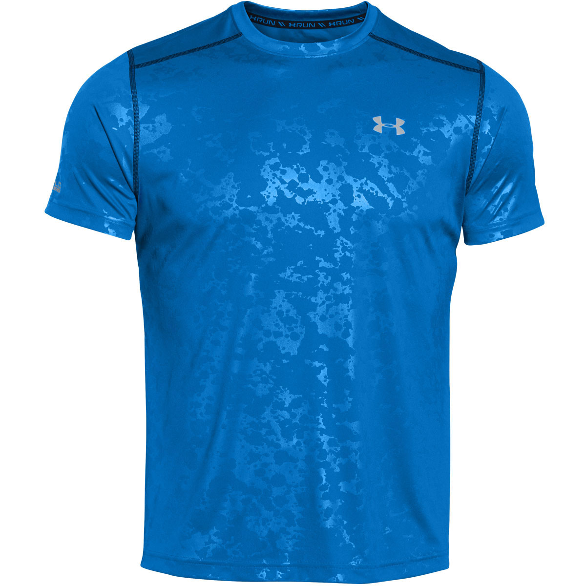 Under armour mens ua coldblack run short sleeve t shirt for Under armour men s tech short sleeve t shirt