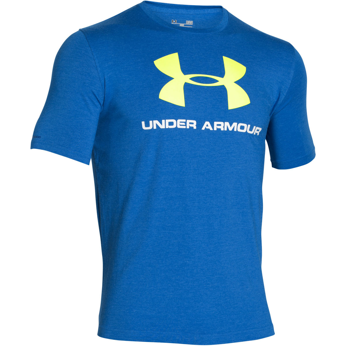 Under armour 2016 mens charged sportstyle logo t shirt for Under armour t shirts