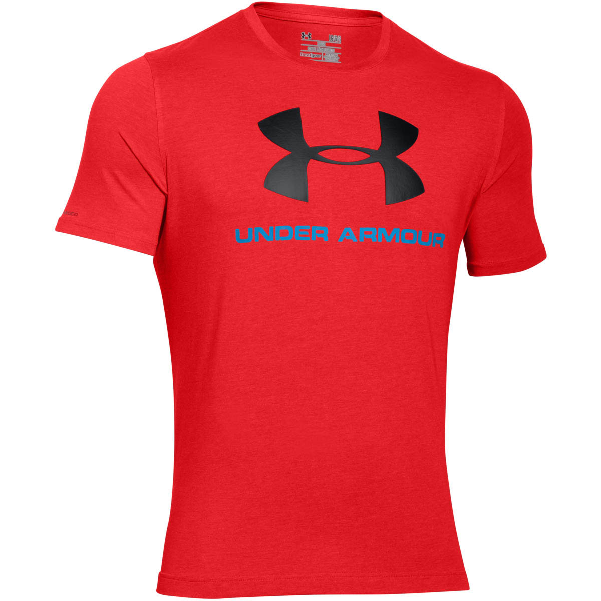 Under armour 2017 mens charged cotton sportstyle logo t for Under armour company shirts