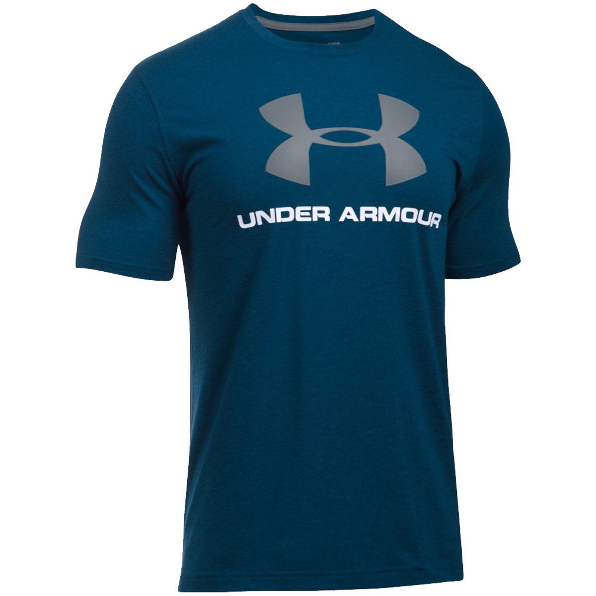 Under armour 2017 mens charged cotton sportstyle logo t for Under armour big logo t shirt