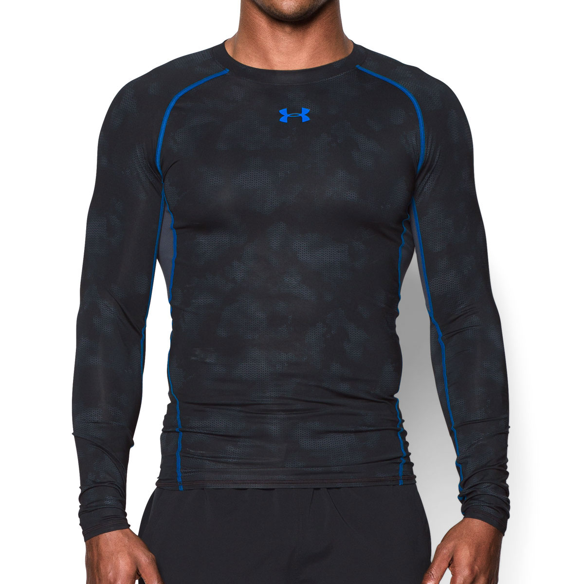 Under armour 2016 mens ua hg armour printed compression for Compressed promotional t shirts
