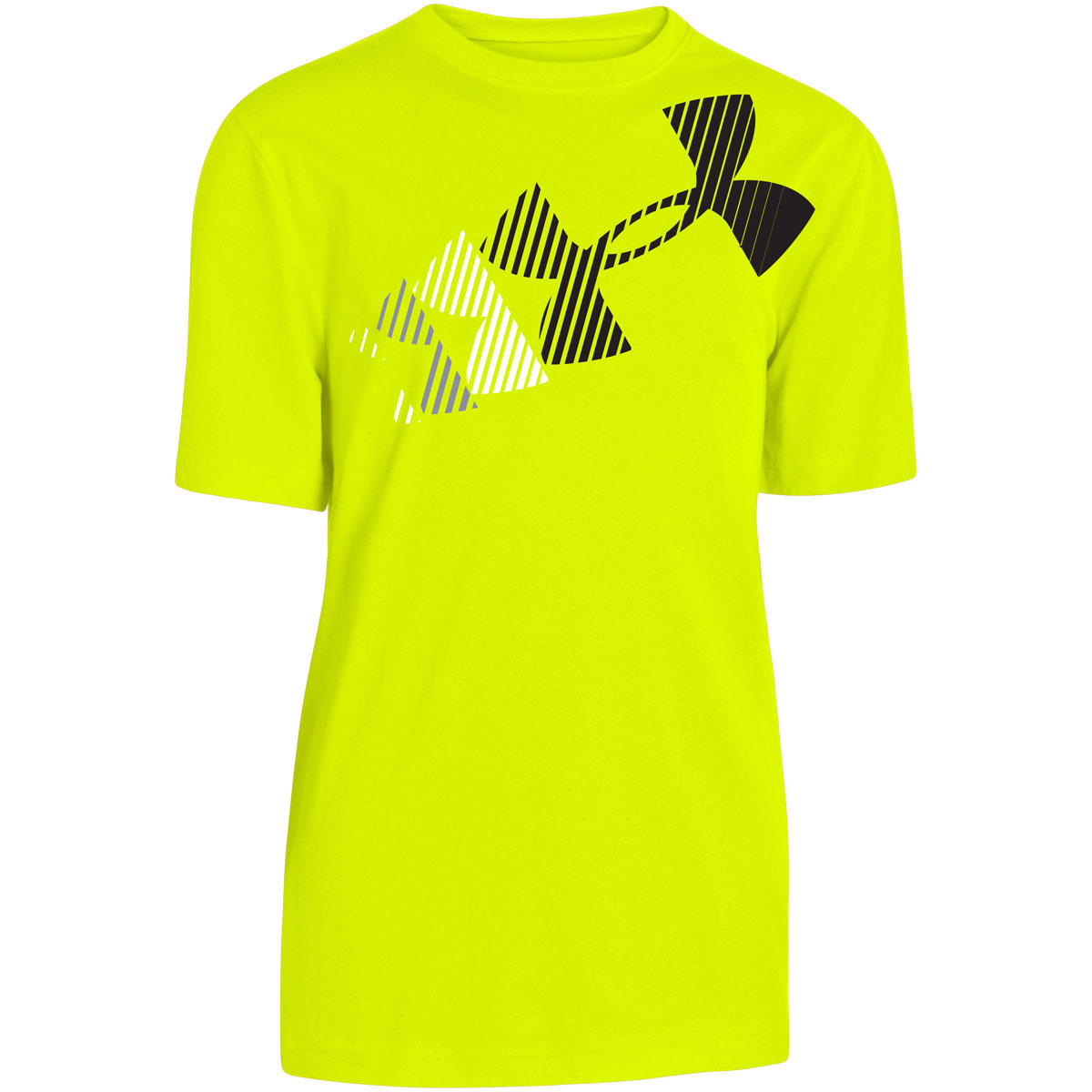 Under armour 2015 boys ua rising logo t shirt heatgear for Under armour swim shirt youth