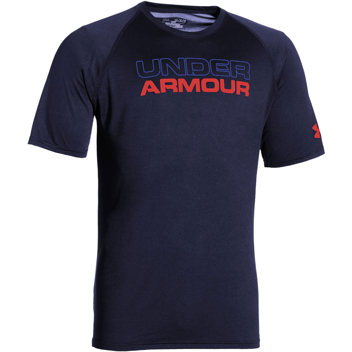 Under Armour Mens Ua Stacked Wordmark T Shirt Short Sleeve
