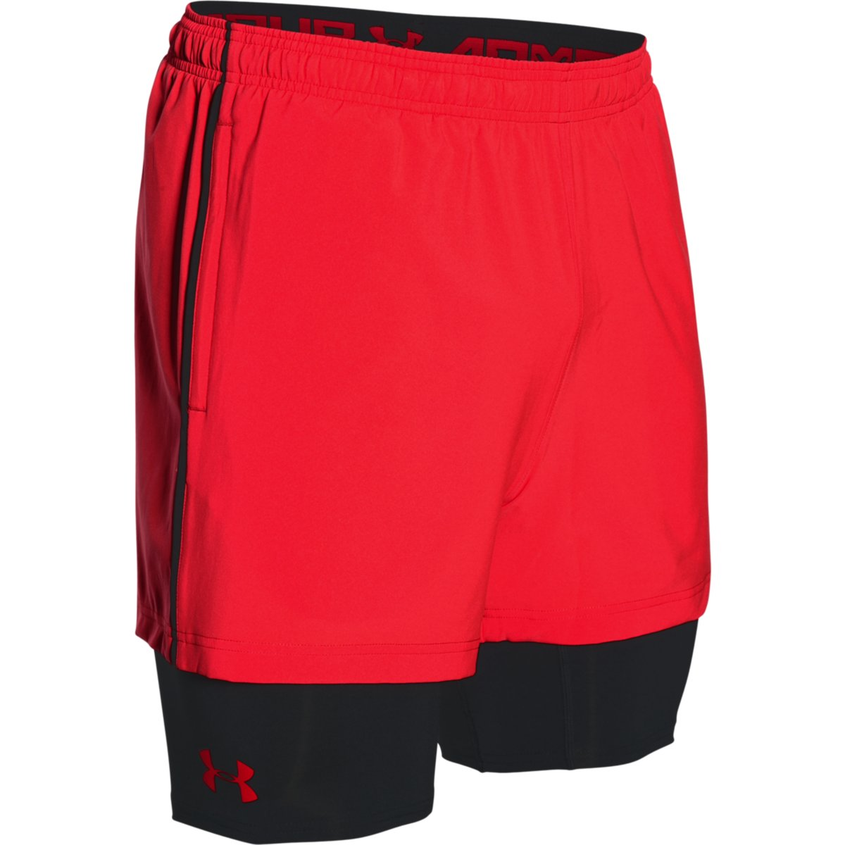 under armour 2017 mens ua mirage 2 in 1 shorts built in