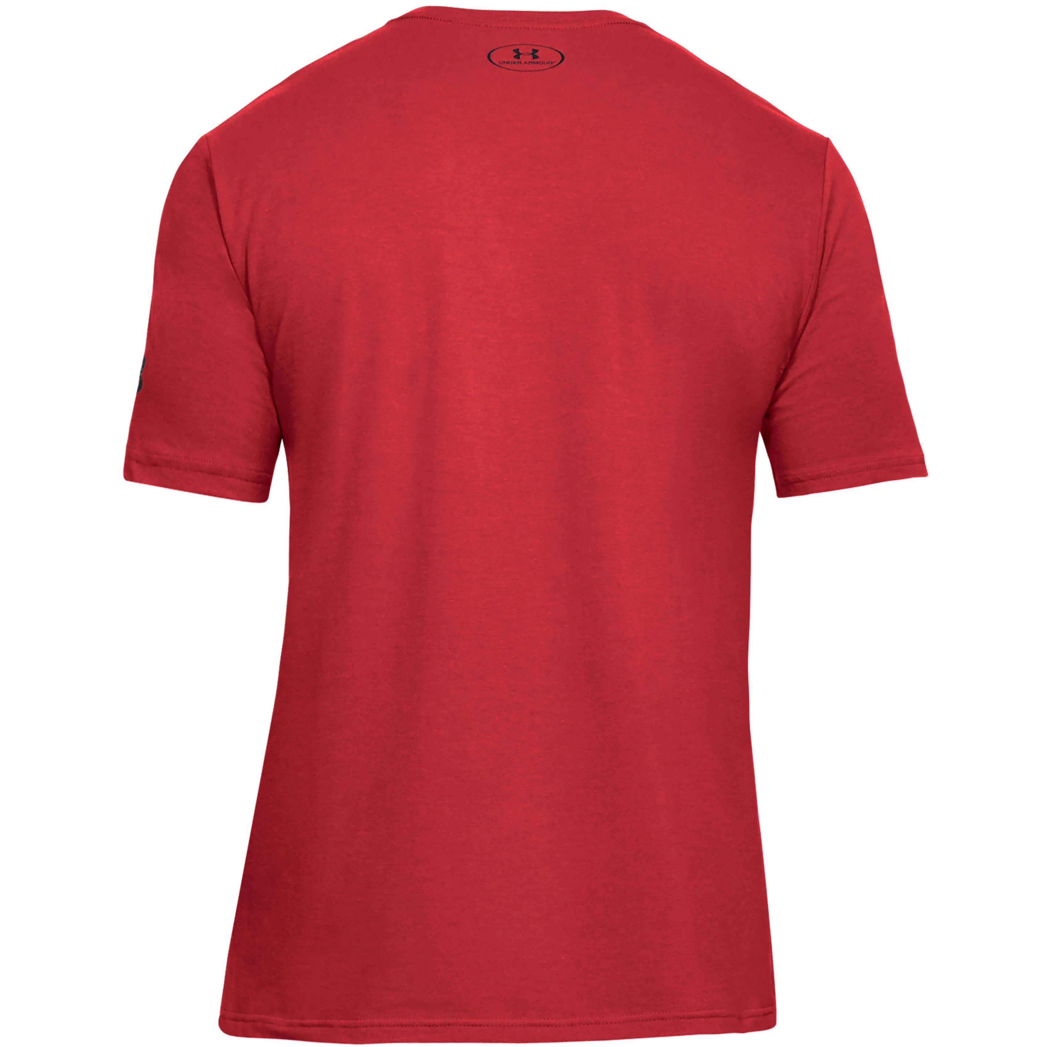 Under Armour Mens UA BBall FILO Short Sleeve Gym Training Sports T Shirt