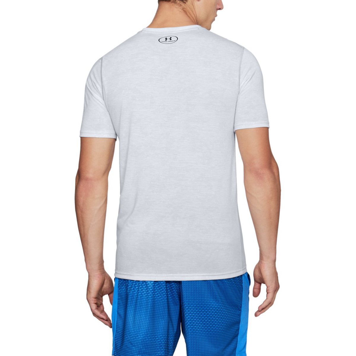 Under Armour Mens Threadborne FTD Printed SS Fitted Stretch T-Shirt