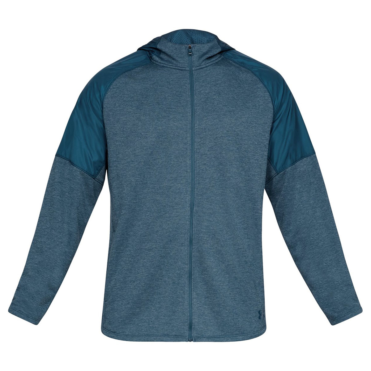 Under Armour Mens 2019 MK1 Terry FZ Soft Lightweight Warm Training Hoody