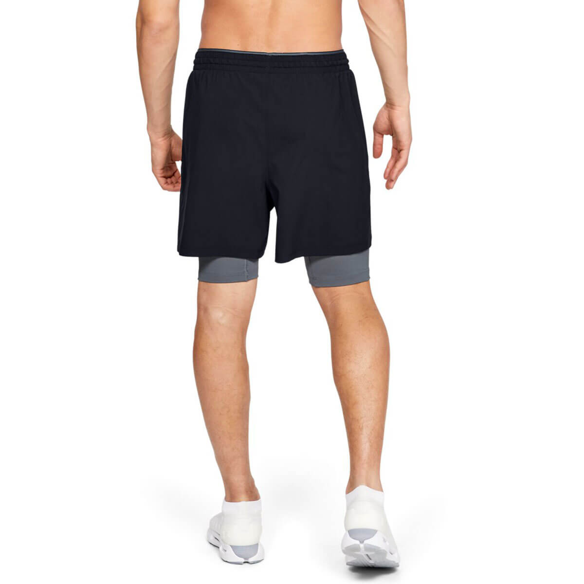 Under Armour Mens 2019 Qualifier 2-In-1 Lightweight Breathable Wicking Shorts