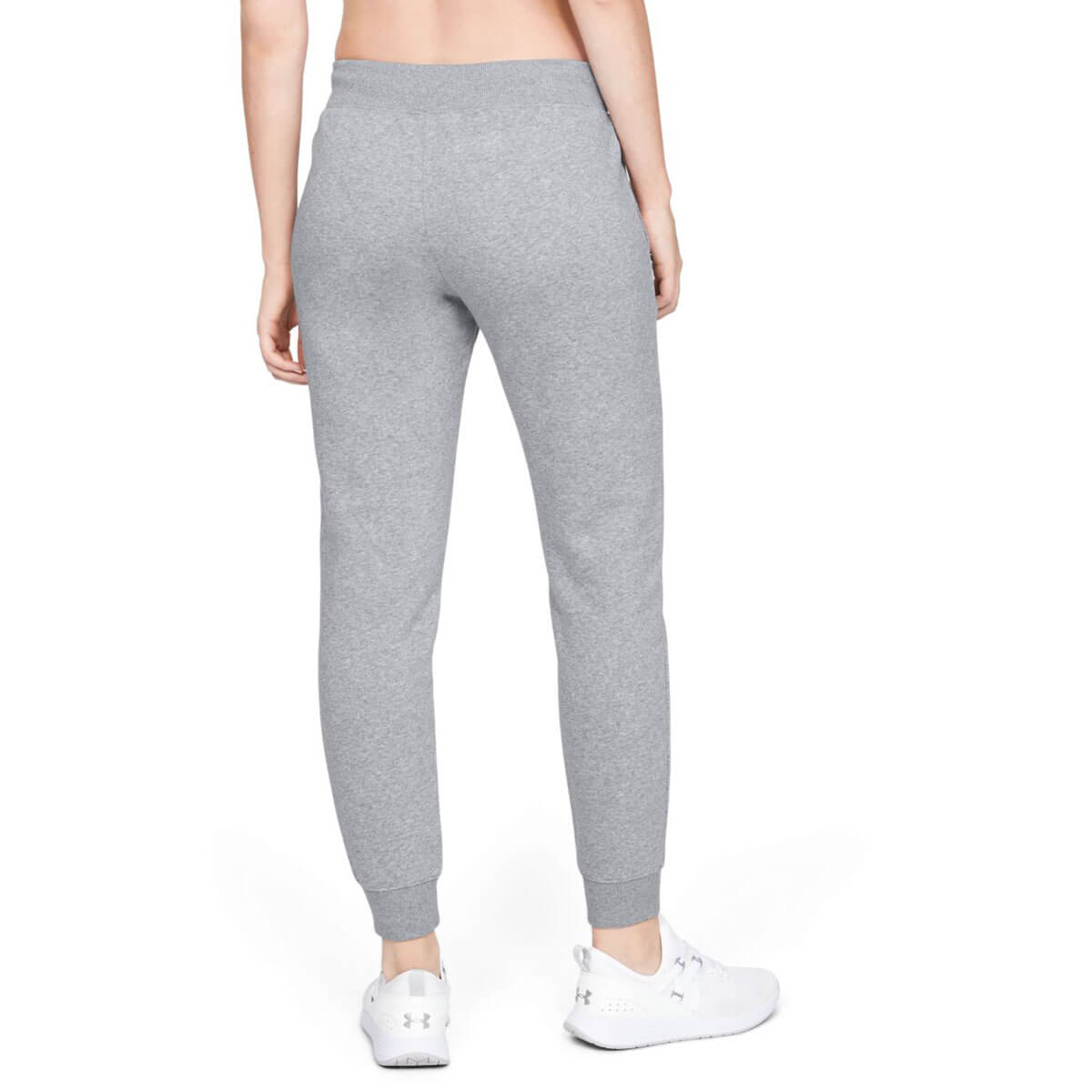 Under Armour Womens 2019 Rival Fleece Sportstyle Graphic Stretch Trousers
