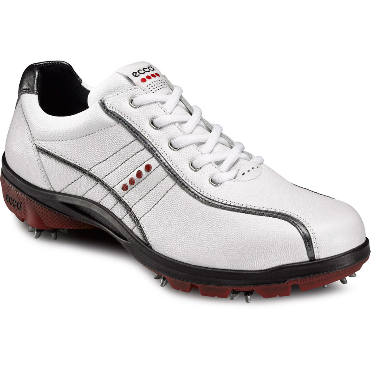 Ecco-2012-Men-039-s-Cool-III-Gore-Tex-Golf-Shoes-White