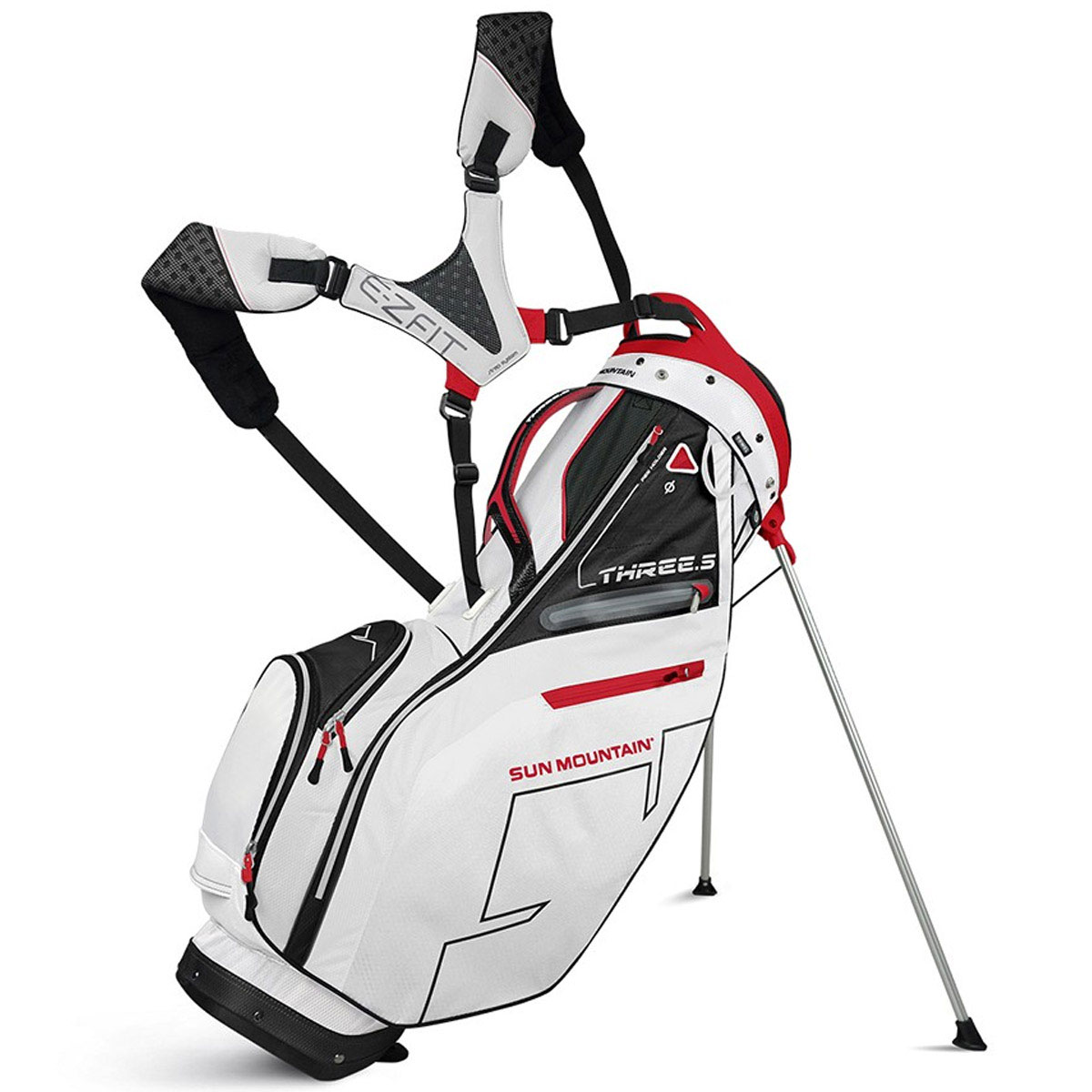 Light Stand Golf Bag: Sun Mountain 2016 Three 5 Carry Stand Lightweight Golf Bag