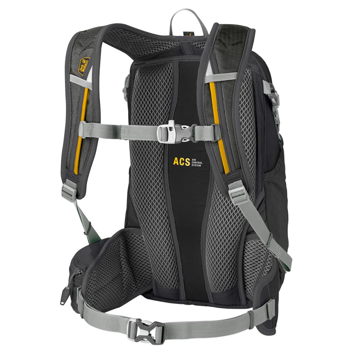 Jack Wolfskin Unisex Moab Jam 18 Breathable Lightweight Durable Rucksack