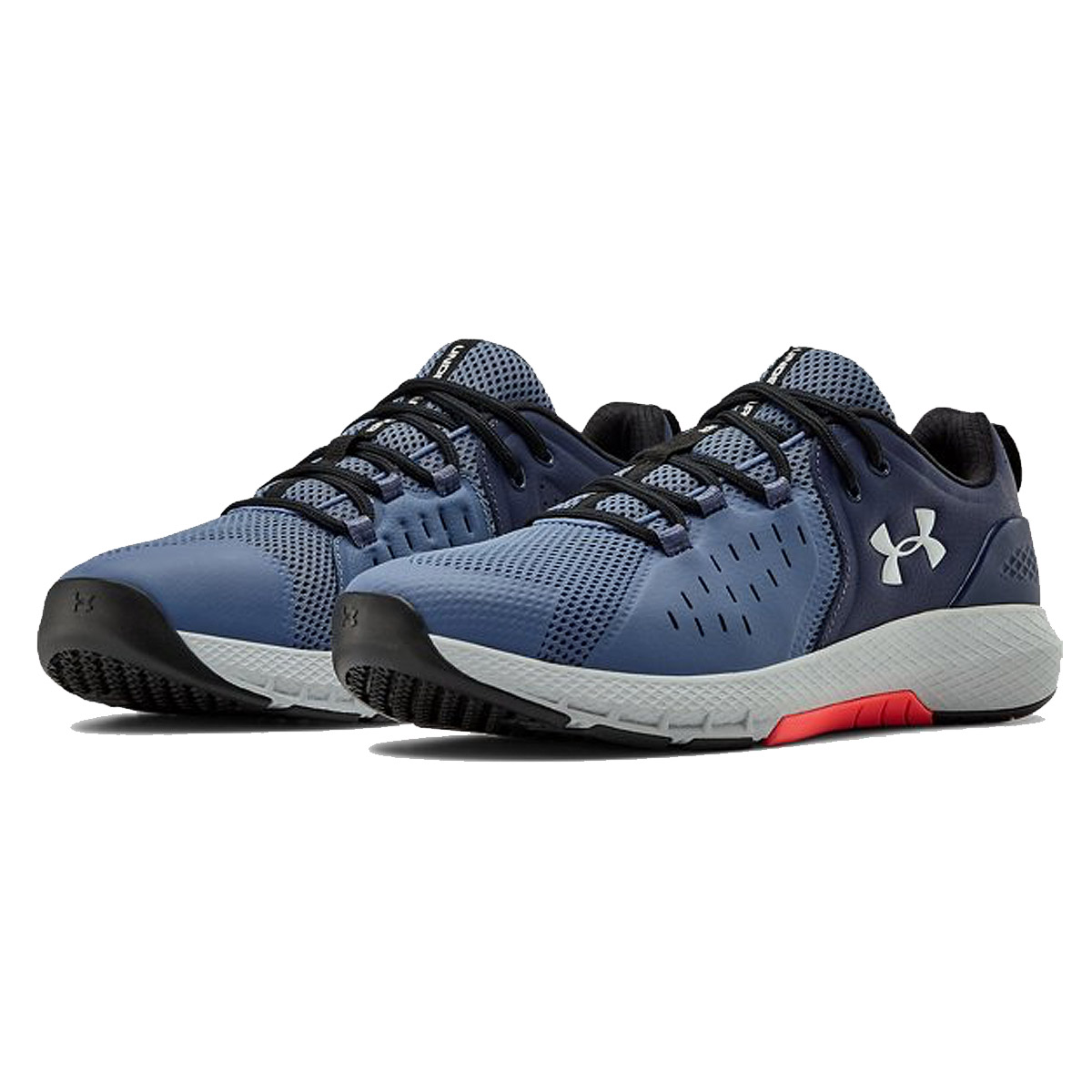Under Armour Mens 2020 UA Charged Commit TR 2.0 Leather Trainers Training Shoes