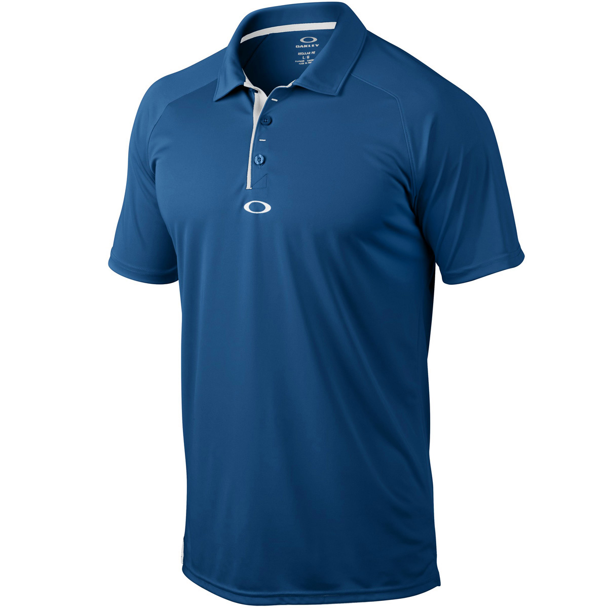 43 off rrp oakley golf mens short sleeve elemental 2 0 for Short sleeve mens dress shirts clearance
