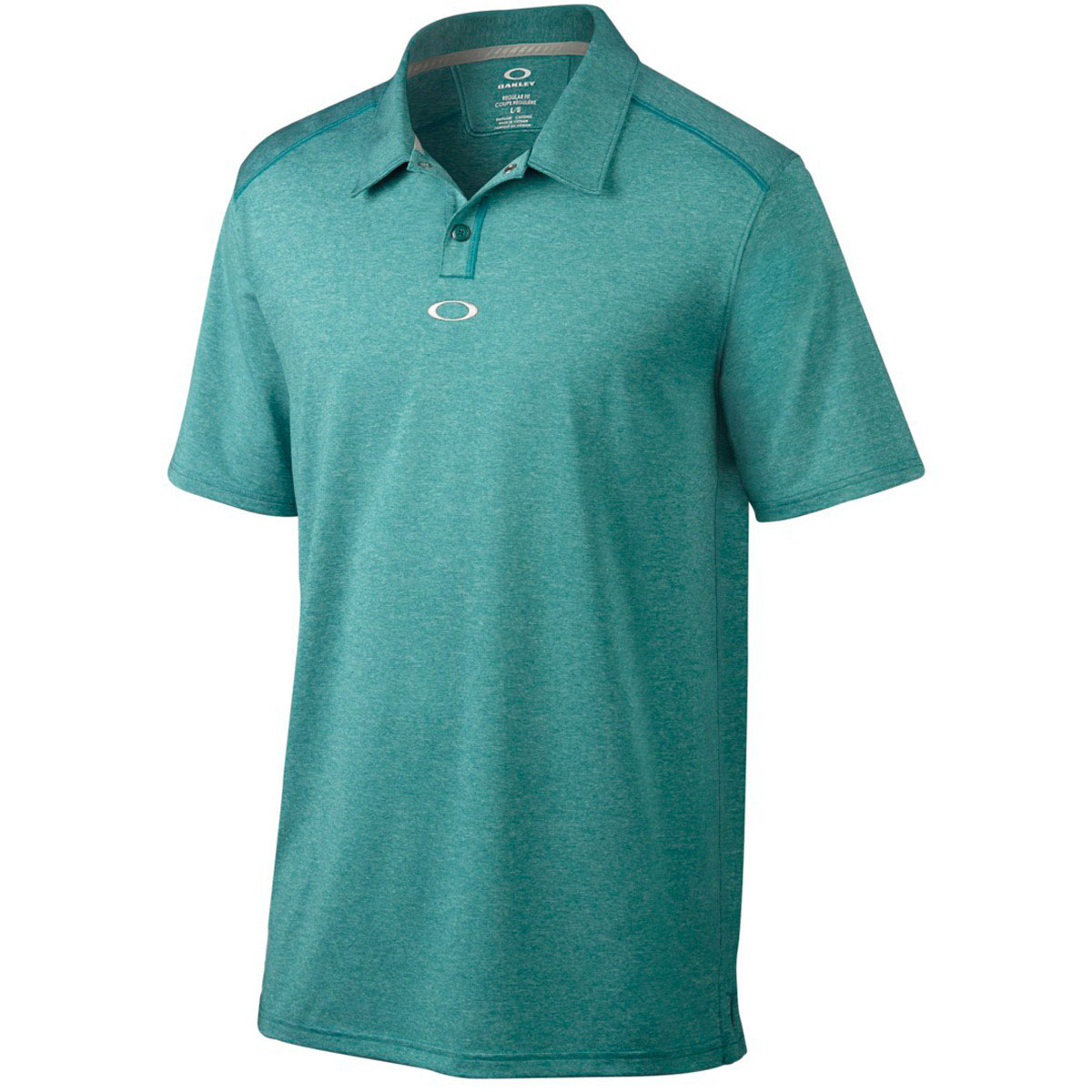 Oakley golf mens newlyn polo shirt o hydrolix sport for Men s athletic polo shirts