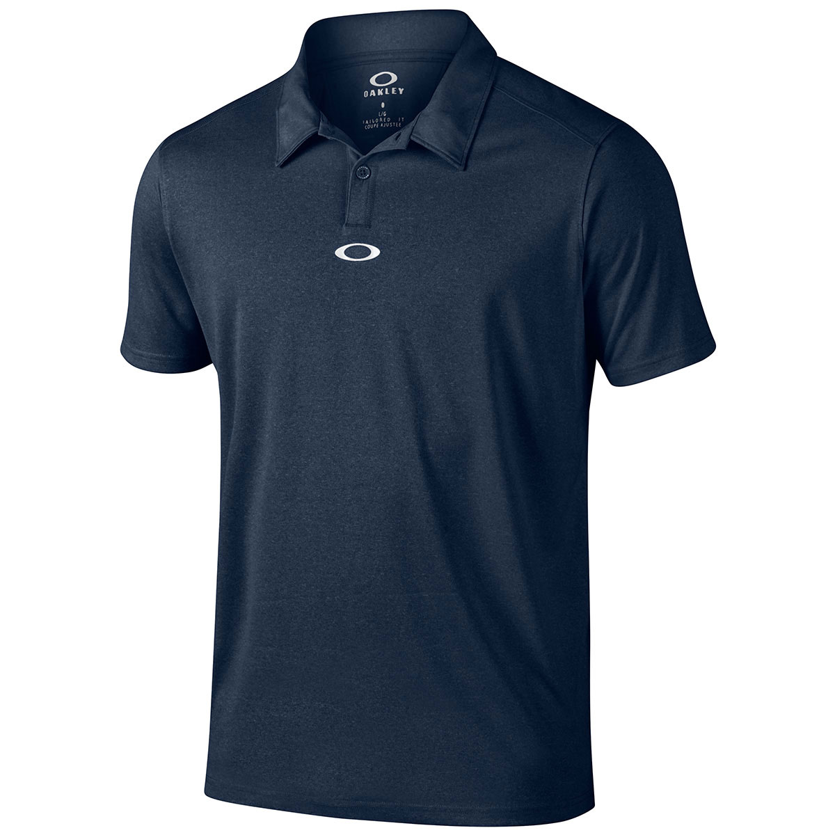 Oakley golf 2016 mens roman performance tech short sleeve for Polo golf shirts for men