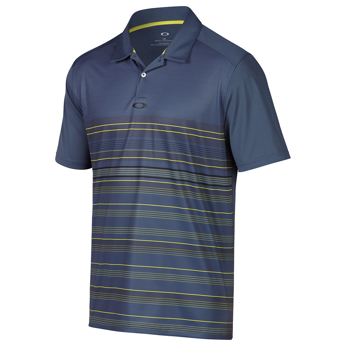 Oakley golf 2017 mens high crest golf polo shirt top for Polo golf shirts for men