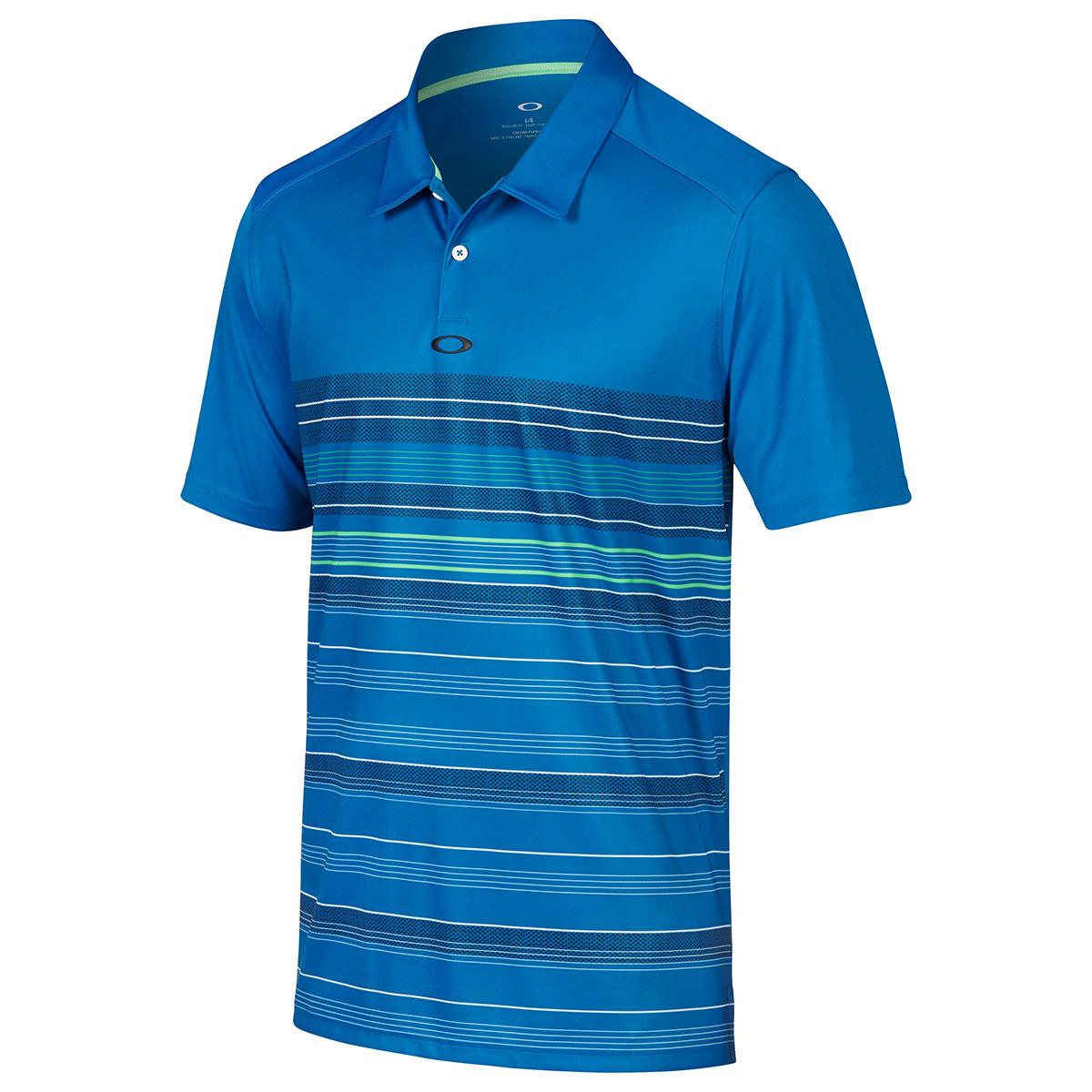 Oakley Golf 2017 Mens High Crest Golf Polo Shirt Top