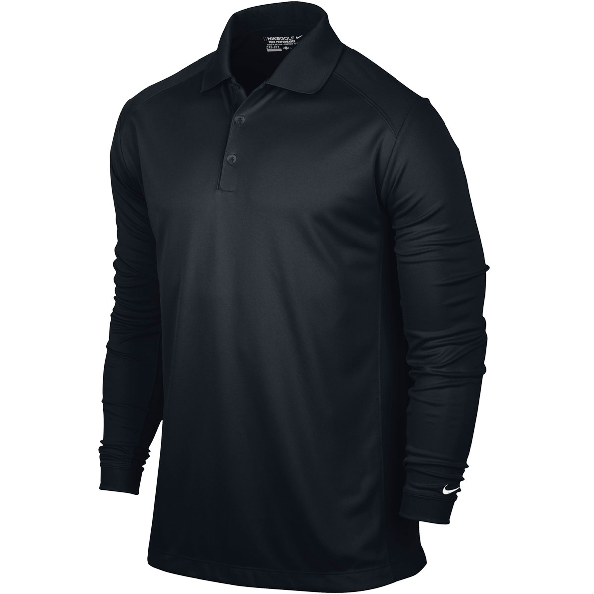 Nike Golf 2015 Mens Dri Fit Victory Long Sleeve Polo Shirt